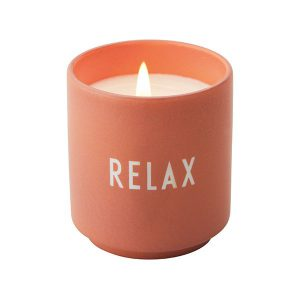 Świeca zapachowa Relax Design Letters
